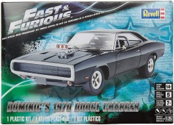 Carro Dodge Charger 70 - Dominic's - Fast and Furious - REVELL
