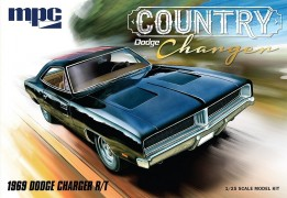 "Carro Dodge Charger R/T -  1969  - ""Country"" Charger - AMT"