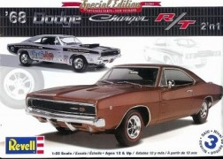 Carro Dodge Charger R/T 2 em 1 - REVELL AMERICANA