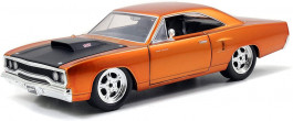 Carro Dom's Plymouth Road Runner 1970 - Fast And Furious - JADA TOYS