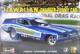 Carro Dragster Hawaiian Charger Funny Car - REVELL AMERICANA