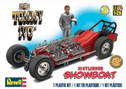 Carro Dragster Tommy Ivo's 32 Cylinder Showboat - REVELL AMERICANA