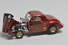 Carro Dragster Willys 41 - Stone, Woods e Cook REVELL AMERICANA