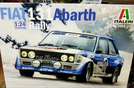 Carro Fiat 131 - Abarth Rally                       3662 - ITALERI