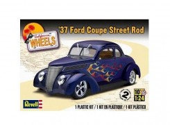 Carro Ford Coupe Street Rod 1937      4097 - REVELL AMERICANA