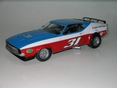 Carro Ford Mustang BOSS 1973 Warren Tope - American Racing AMT