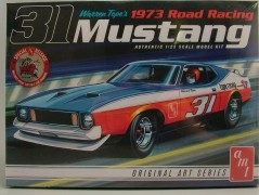 Carro Ford Mustang BOSS 1973 Warren Tope - American Racing - AMT