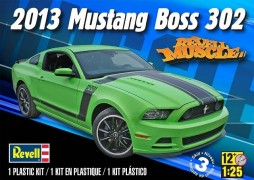 Carro Ford Mustang BOSS 302 2013 - REVELL AMERICANA