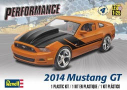 Carro Ford Mustang GT 2014 - REVELL