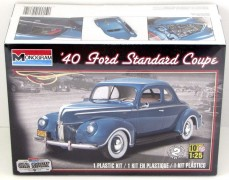 Carro Ford Standard Coupe 1940 - REVELL AMERICANA