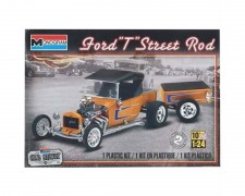 Carro Ford T Street Rod C/ Reboque - REVELL