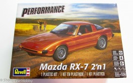 Carro Mazda RX-7 2 in 1 - REVELL