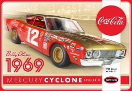 Carro Mercury Ciclone 1969 Nascar Coca Cola Bobby Allison - POLAR LIGHTS