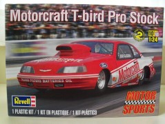 Carro Motorcraft Ford T-Bird PRO STOCK Dragster       4098 REVELL AMERICANA