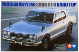 Carro Nissan Skyline 2000 GT-R Hard Top -    JDM Legend - TAMIYA