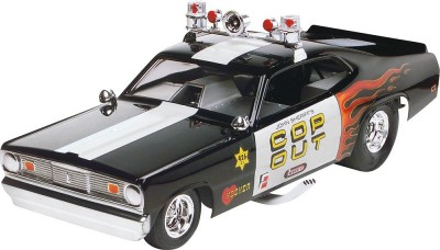 Carro Plymouth Duster - Cop Out FUNNY CAR            4093 REVELL AMERICANA