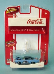 Carro Plymouth GTX 1970 - Coca-Cola JOHNNY LIGHTNING