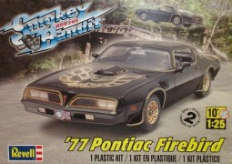 Carro Pontiac Firebird 1977 - Smokey and the Bandit - REVELL AMERICANA