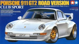 Carro Porsche 911 GT-2 - Club Sport - Road Version     24247 - TAMIYA