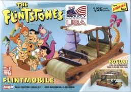 Carro The Flinstones - Flintmobile LINDBERG