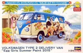 Carro VW Kombi - Type 2 Delivery Van - Egg Girls Summer - HASEGAWA