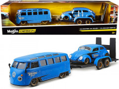 Carro VW KOMBI + VW Fusca + Reboque - Elite Transport - MAISTO