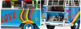 Carro VW Samba Bus - Flower Power             07050 REVELL ALEMA