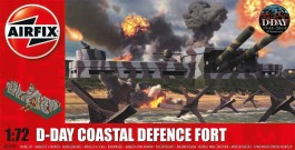 D-Day Coastal Defence Fort - Fortificacao Costeira - AIRFIX