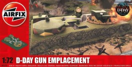 D-Day Gun Emplacement - Fortificacao Costeira - AIRFIX
