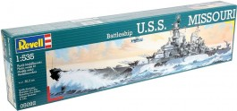 Destroyer Americano USS Missouri                       05902 - REVELL