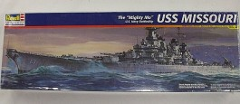 Destroyer Americano USS Missouri - Thie Mighty Mo - REVELL AMERICANA