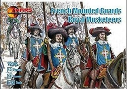 French Mounted Guards , Royal Musketeers MARS FIGURES