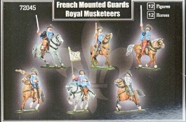 French Mounted Guards , Royal Musketeers - MARS FIGURES