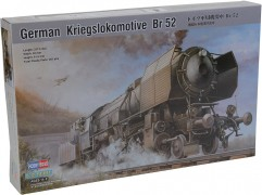 German Kriegslokomotive Br 52 - HOBBYBOSS