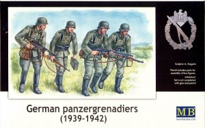 German Panzergrenadiers , 1939-1942 MASTER BOX