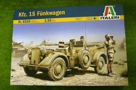 German Staff Car BMW Kfz.15 Funkwagen - ITALERI