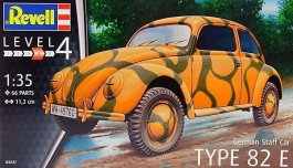 German Staff Car Type 82 E - Fusca - REVELL ALEMA