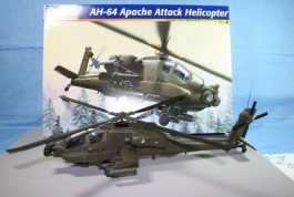Helicoptero AH-64 Apache - REVELL AMERICANA