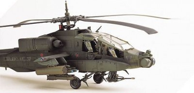 Helicoptero Ah-64A Apache ACADEMY