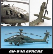 Helicoptero AH-64A (MSIP) Apache     12262 ACADEMY