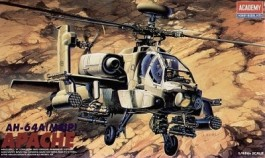 Helicoptero AH-64A (MSIP) Apache - ACADEMY