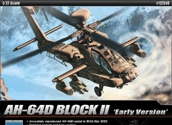 Helicoptero AH-64D BLOCK II - Early Version   12514 ACADEMY