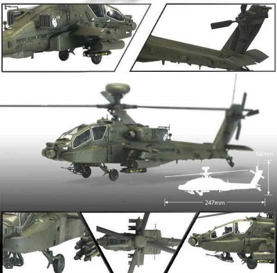 Helicoptero AH-64D BLOCK II - Early Version ACADEMY