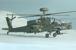 Helicoptero AH-64D Long Bow Apache HOBBYBOSS