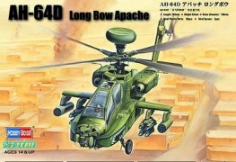 Helicoptero AH-64D Long Bow Apache - HOBBYBOSS