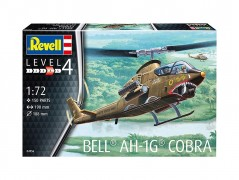 Helicoptero Bell AH-1G Cobra                           04956 - REVELL ALEMA