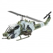 Helicoptero BELL AH-1W - SuperCobra c/tintas(4)Pinceis(2)e c REVELL ALEMA