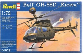 Helicoptero BELL OH-58D KIOWA                04938 - REVELL ALEMA