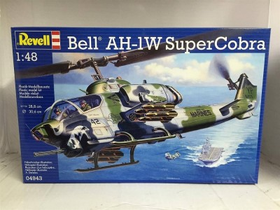 Helicoptero Bell Super Cobra AH-1W     04943 REVELL ALEMA