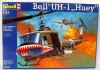 Helicoptero BELL UH-1 Huey - Escala 1/24 - Incrivel KIT - REVELL ALEMA